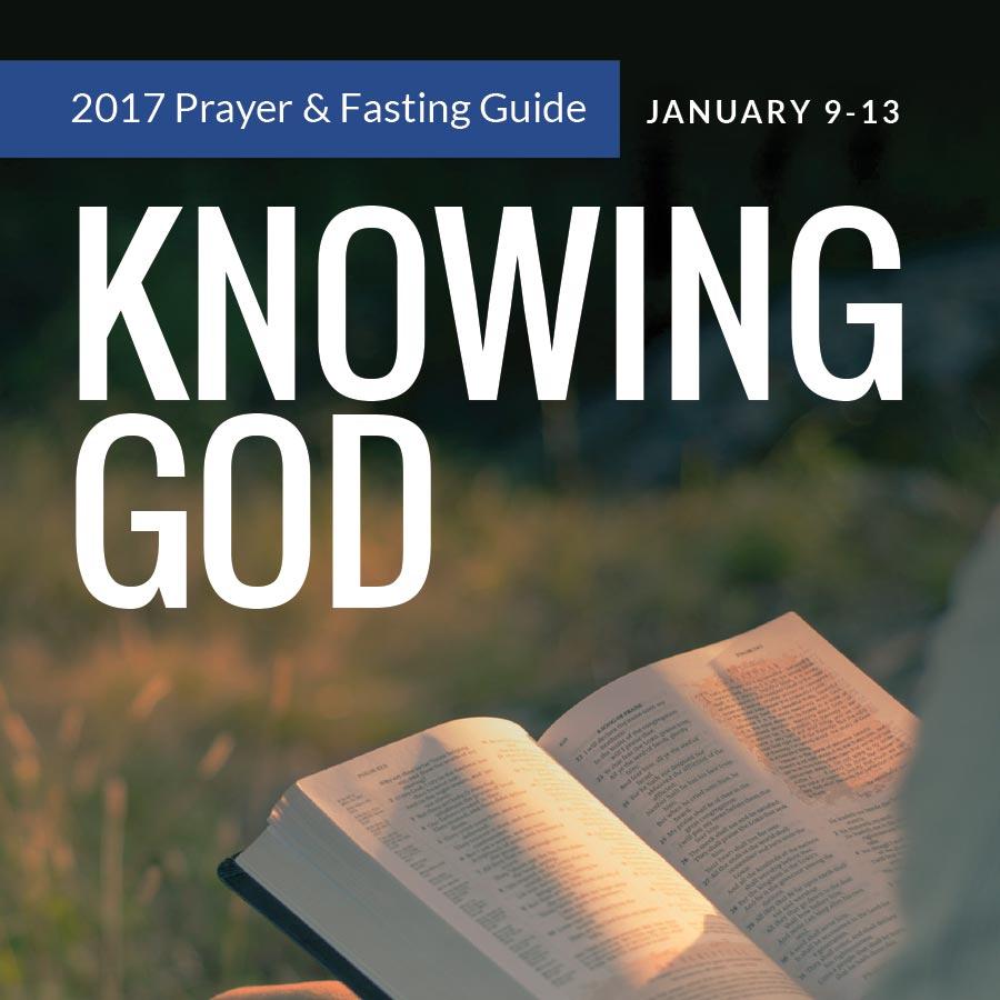 Prayer & Fasting Week: Jan 9-13